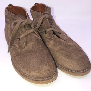 Lucky Brand Leather Booties size 9B EMILLIA